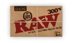 RAW Classic 1¼ Creaseless Rolling Papers (40 Pack)