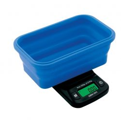 On Balance SBM-100 Scale with Blue Collapsible Silicone Bowl (100g x 0.01g)