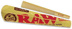 RAW Classic Pre-Rolled 1¼ Cones (32 Pack)