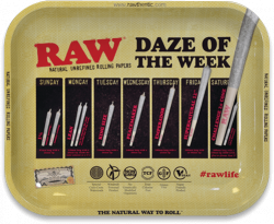 RAW Classic Rolling Tray - Daze of the Week
