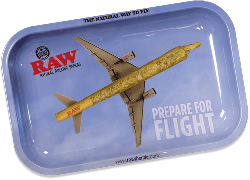 RAW Classic Rolling Tray - Flying