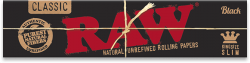 RAW Black King-Size Slim Rolling Papers (50 Pack)