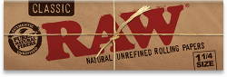 RAW Hojas Classic 1¼ Width Rolling Papers - Double Pack