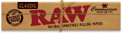 RAW Classic King-Size Slim Connoisseur Rolling Papers with Tips (24 Pack)