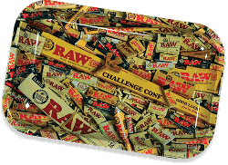 RAW Classic Rolling Tray - Mixed
