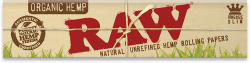 RAW Organic Hemp King-Size Slim Rolling Papers (50 Pack)