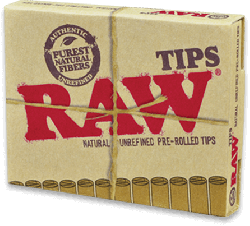 RAW Pre-Rolled Tips (20 Pack)