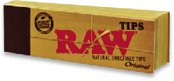 RAW Unbleached Tips (50 Pack)