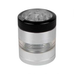 Kannastör® Clear Top Jar Body Multi Chamber Grinder