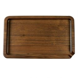 RYOT® Solid Wood Rolling Tray in Walnut